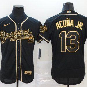 Atlanta Braves Ronald Acuna Jr. Jersey Black